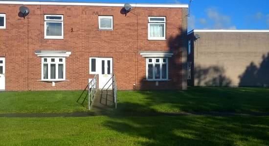 Front view of the property at Kirkstone Place, Newton Aycliffe
